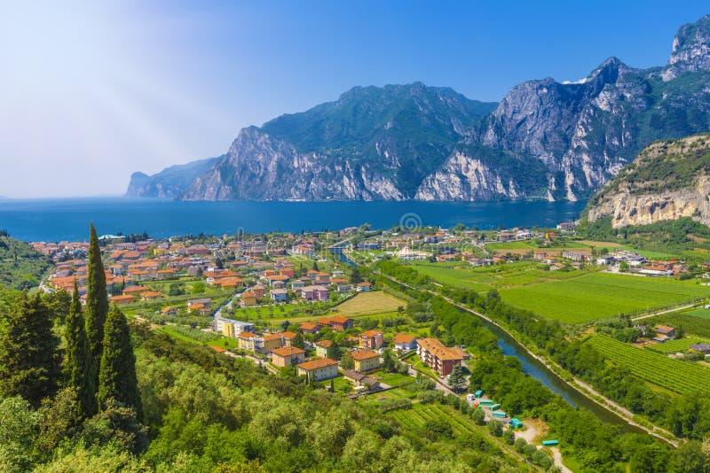 Torbole auf See Garda, Trient, Italien stockfoto