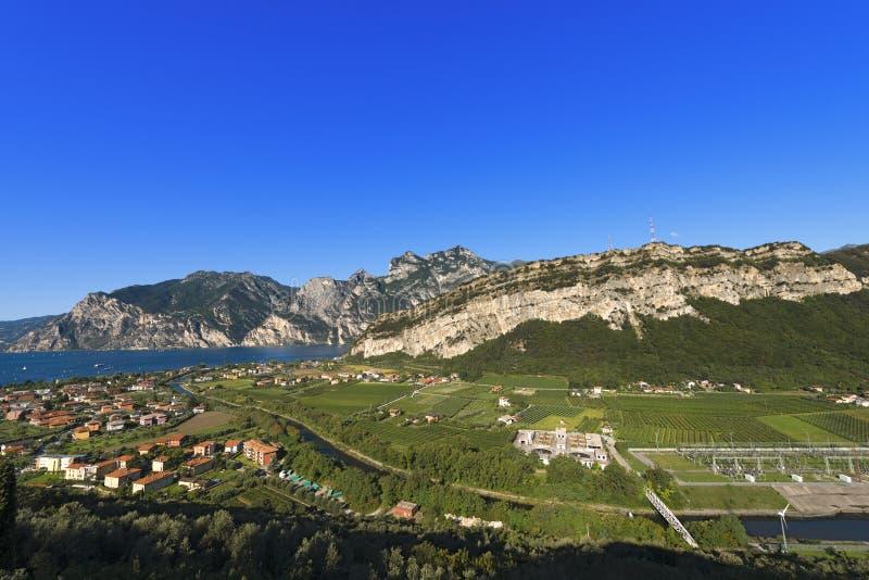 Torbole und Garda See - Trentino Italien lizenzfreie stockfotografie