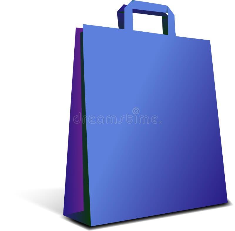 torby błękit royalty ilustracja