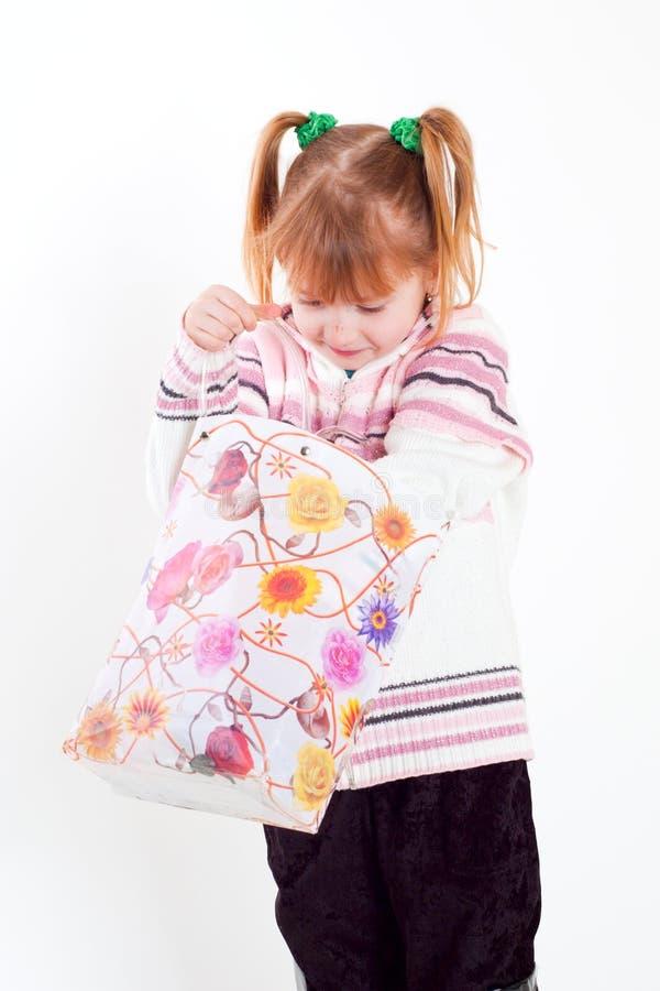 torby dziewczyna obraz royalty free