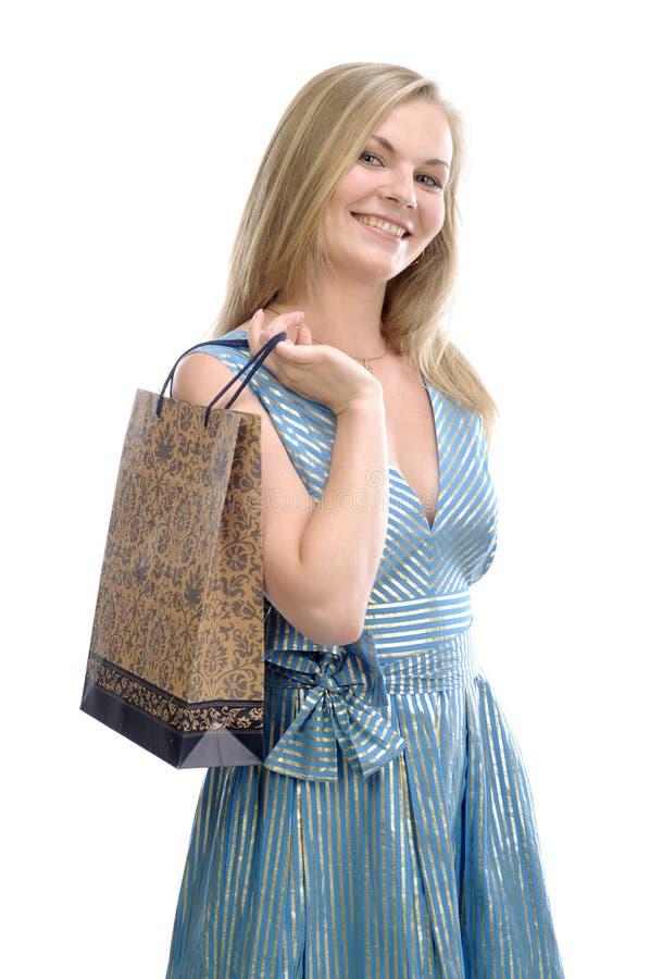 torby dziewczyny ładni potomstwa fotografia stock