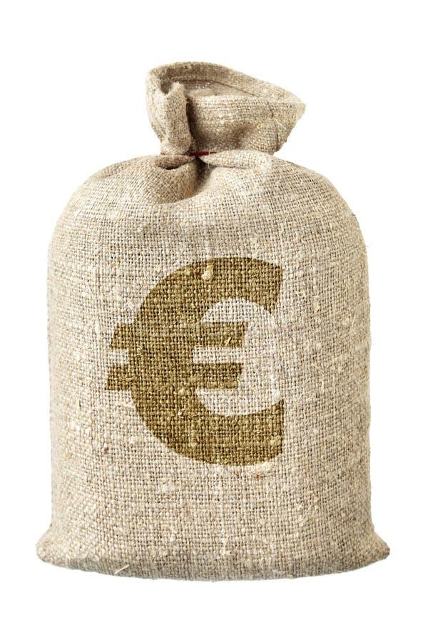 torby euro pieniądze symbol fotografia royalty free