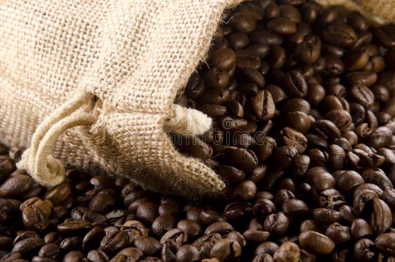 torby fasoli kawy jute obraz royalty free