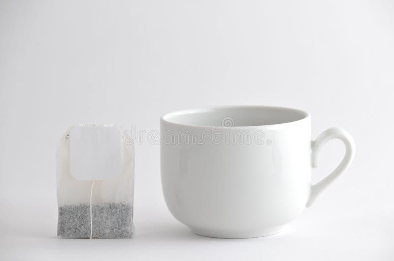 torby filiżanki herbata zdjęcia stock