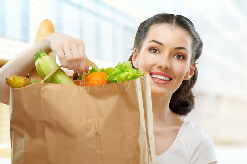 torby jedzenie zdjęcie stock