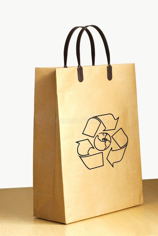 torby loga papier przetwarza zdjęcia royalty free