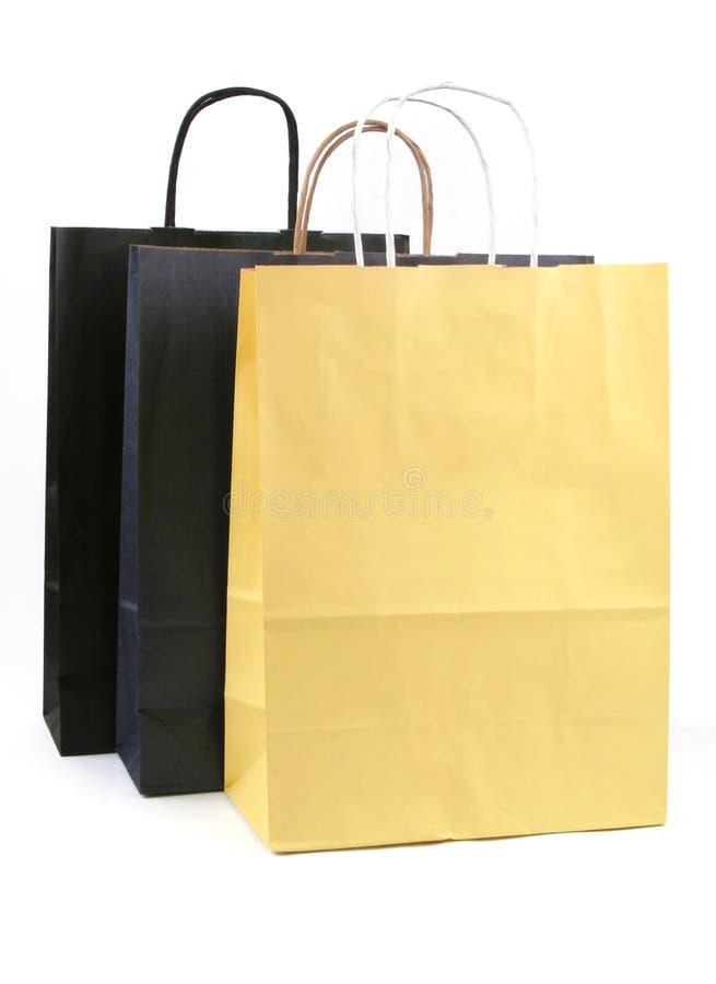 torby na zakupy papieru obraz royalty free