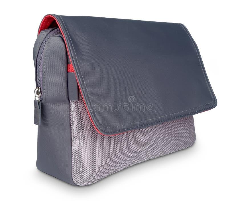 torby piękna szara laptopu czerwień obraz royalty free