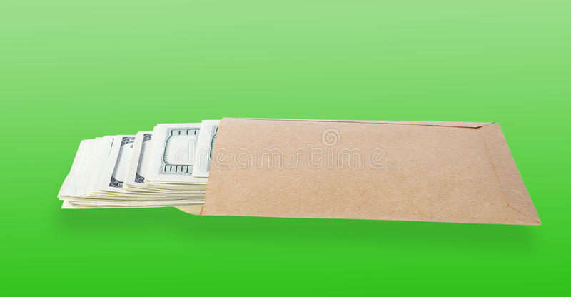 torby pieniądze papier zdjęcia stock