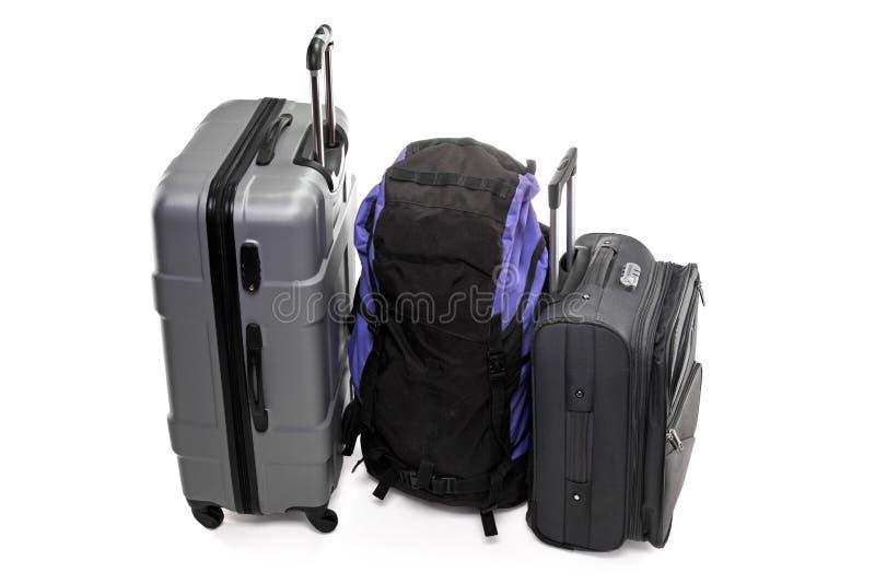 torby podróż trzy fotografia royalty free