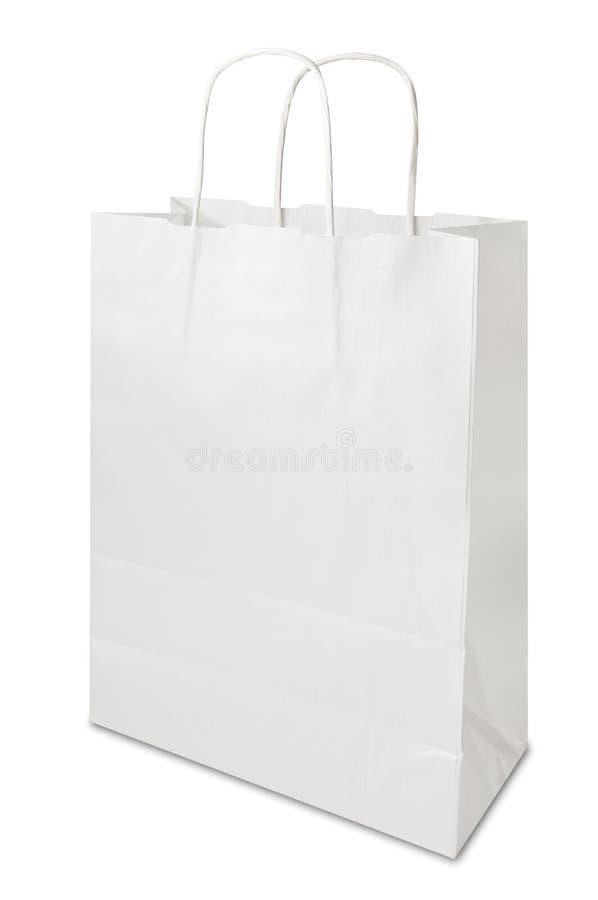 torby pustego papieru zakupy zdjęcie royalty free
