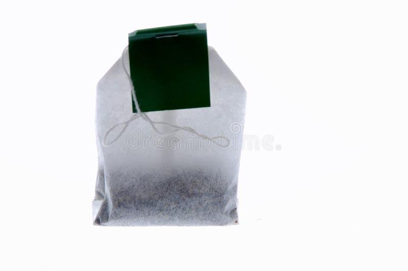 torby zielona herbata fotografia stock
