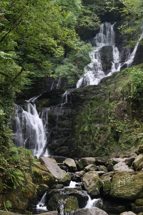 Download Torc waterfall stock image. Image of water, torc, valley - 5663597