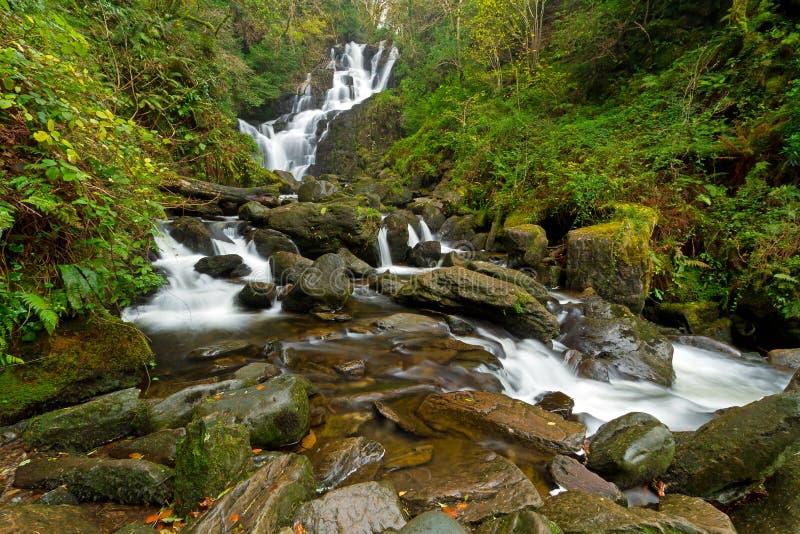 Torc Waterfall In Killarney National Park Royalty Free Stock Photo
