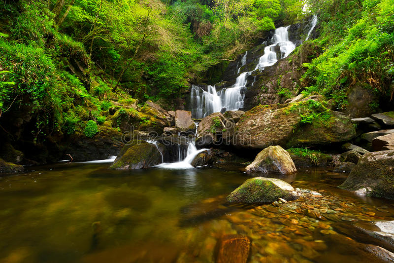 Download Torc Waterfall In Killarney National Park Stock Image - Image: 24865359