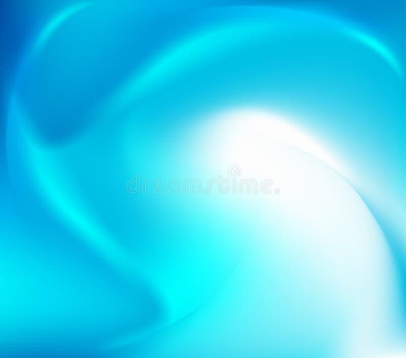 Torcedura abstracta azul libre illustration