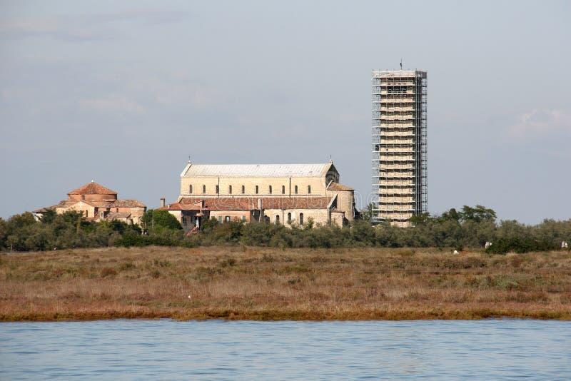 Torcello stock foto