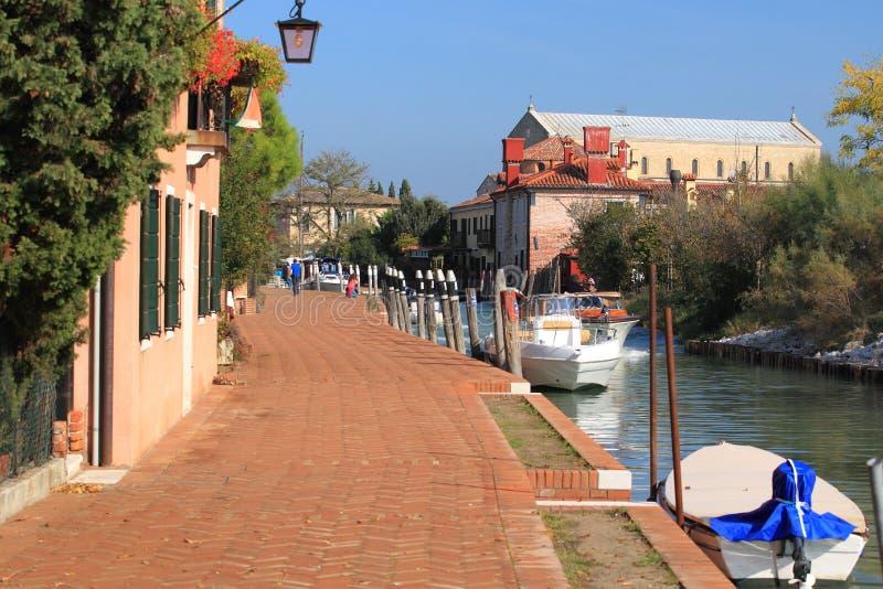 Torcello lizenzfreies stockfoto