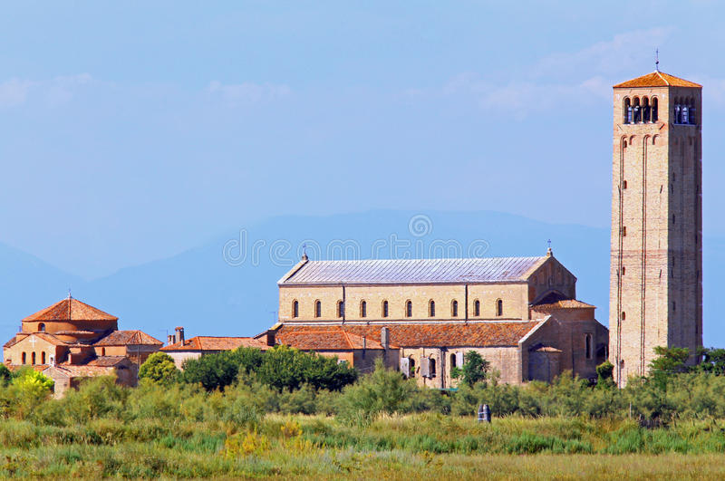 Torcello is a little island near Venice stock image