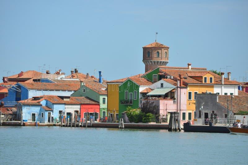 Torcello in Venetië stock fotografie