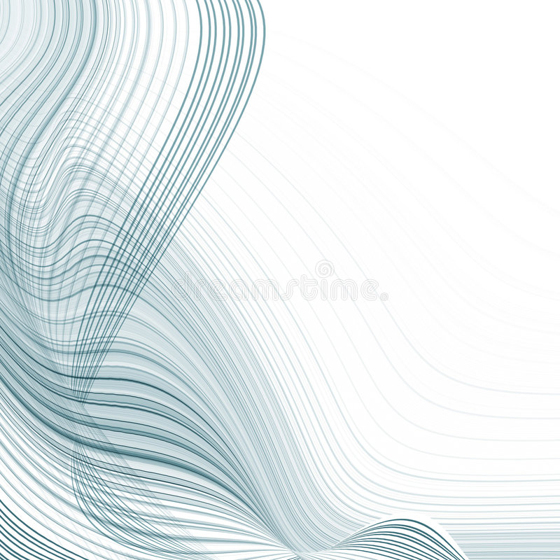 Torcendo linhas ilustração do vetor