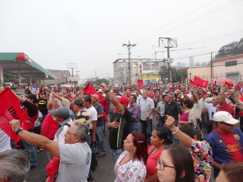 Protest against corruption in Honduras against Juan Orlando Hernandez 39 stock photography