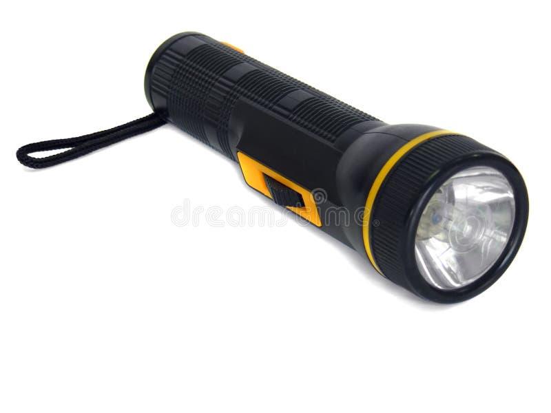 torche électrique noire photographie stock libre de droits