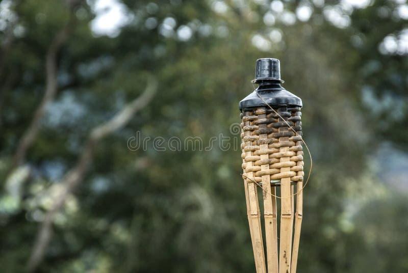 Torche décorative photographie stock
