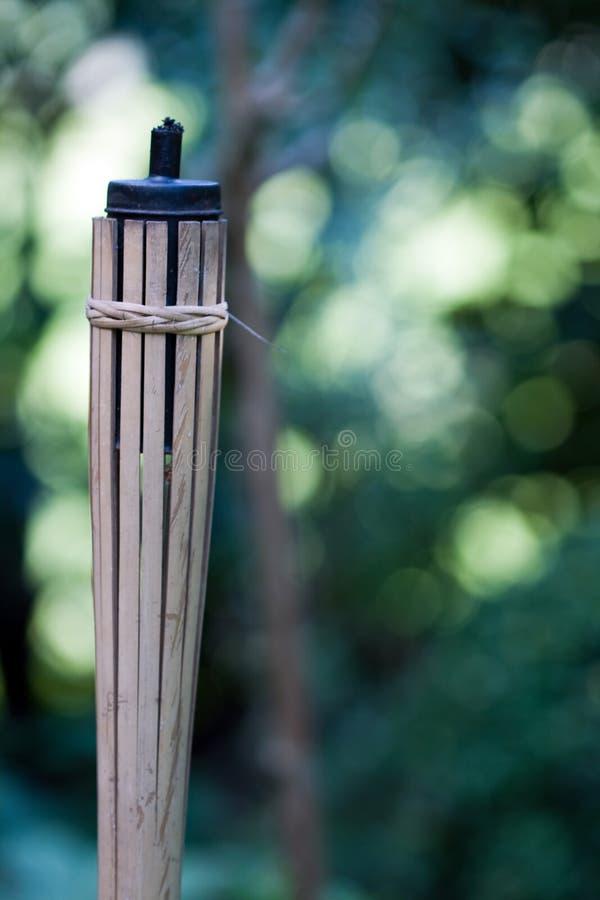 Torche de Tiki photo libre de droits