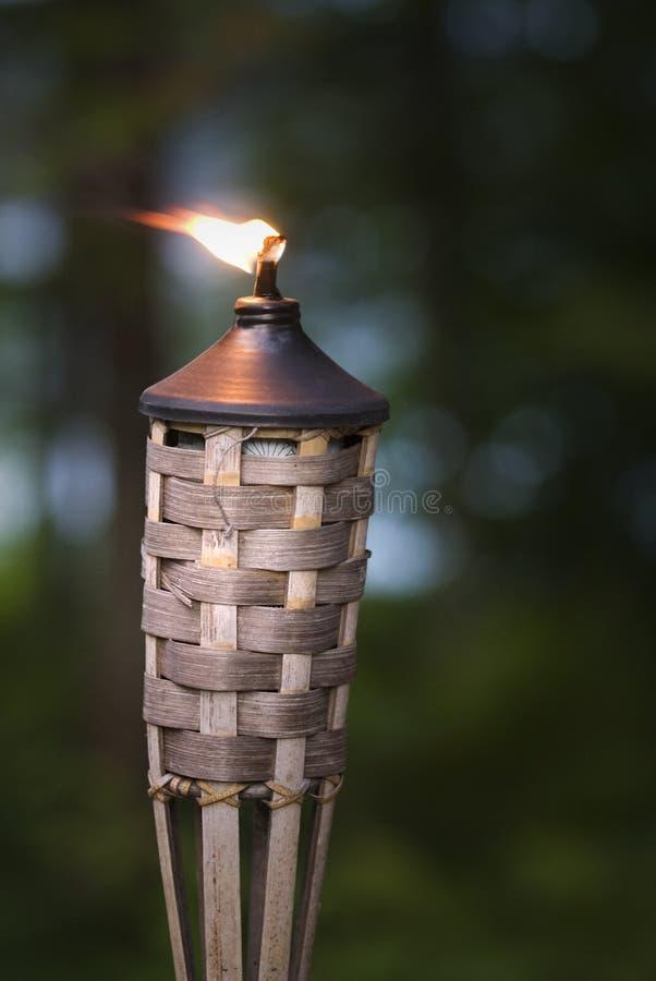 Torche de Tikki photos libres de droits