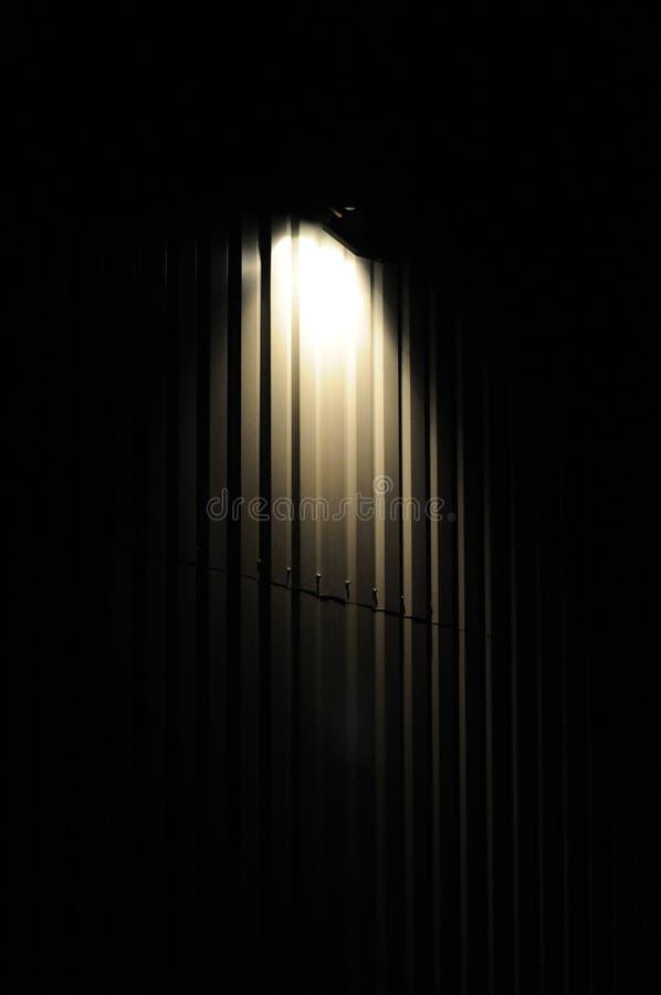 Torche nocturne photo libre de droits