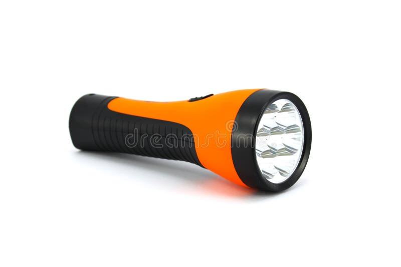 Torche orange image libre de droits