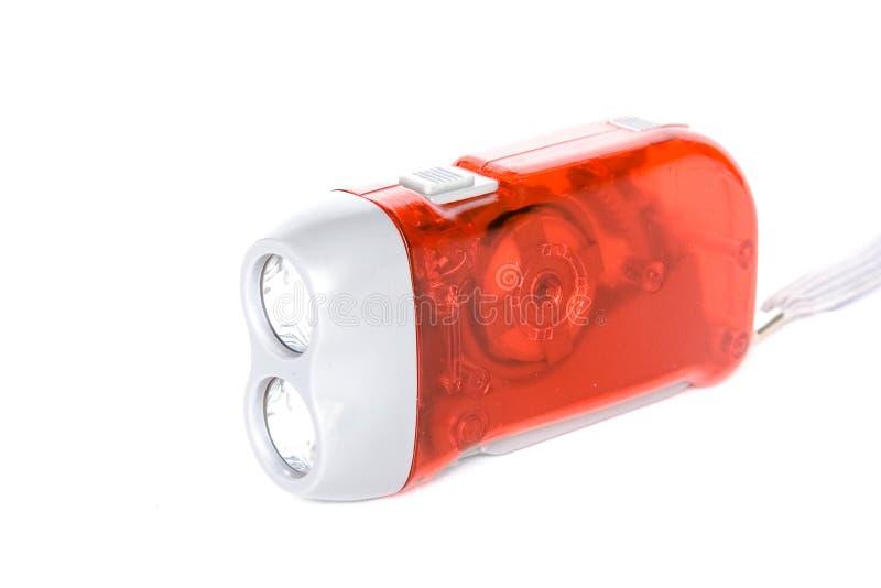 Torcia elettrica della dinamo fotografie stock libere da diritti