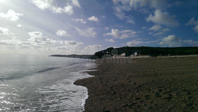 Torcross-Strand stockbild