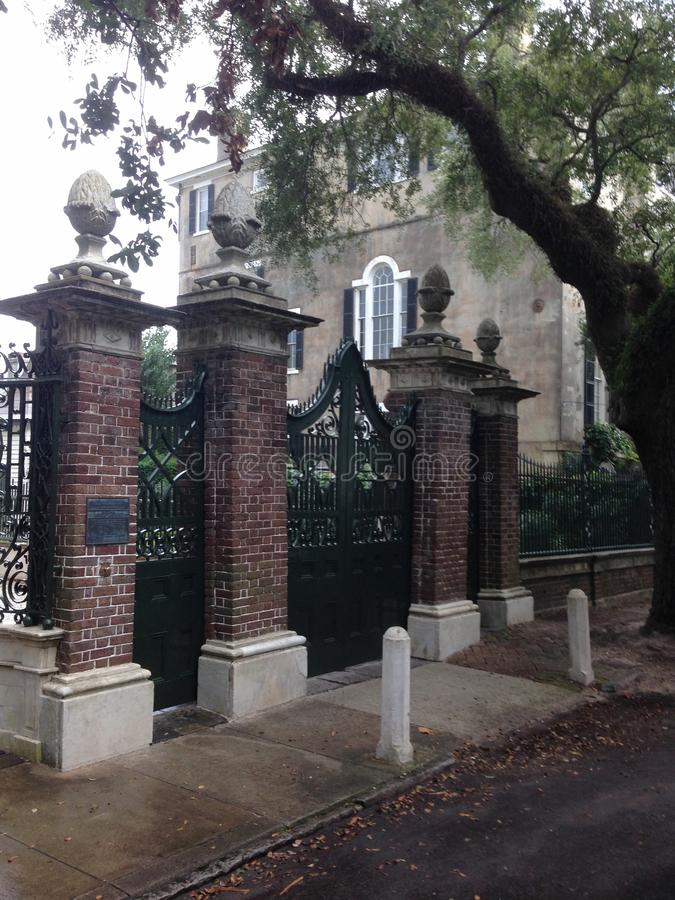 Tore von Charleston 2 stockbild