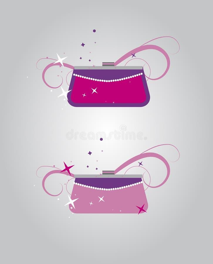 torebek kobiety royalty ilustracja