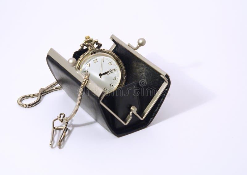 torebka kieszonkowy zegarek obrazy royalty free