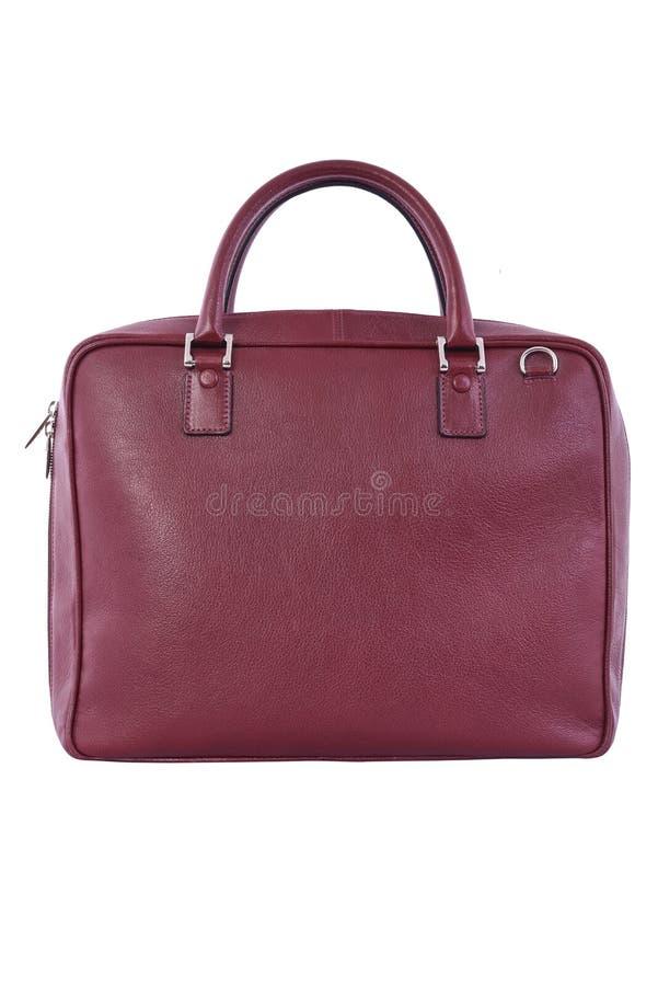 torebki kobiecej czerwony skóry zdjęcie royalty free