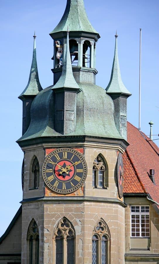 Toren 3 van het stadhuis royalty-vrije stock fotografie