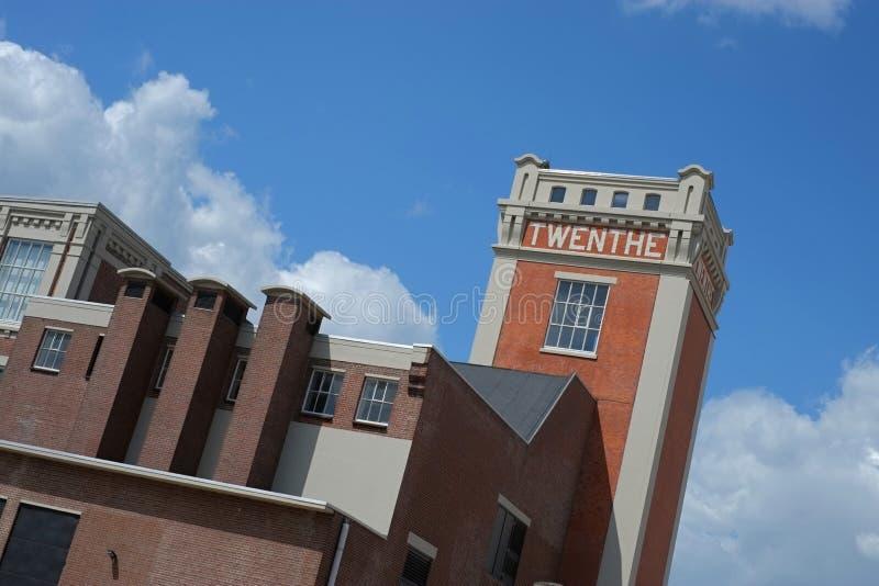 Toren in Almelo (Nederland) royalty-vrije stock fotografie