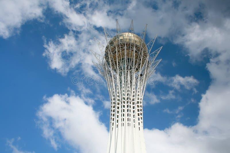 Toren Baiterek in Astana royalty-vrije stock afbeelding