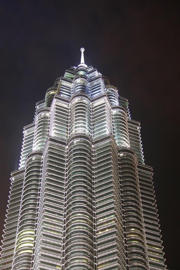 Toren bij Nacht royalty-vrije stock afbeelding