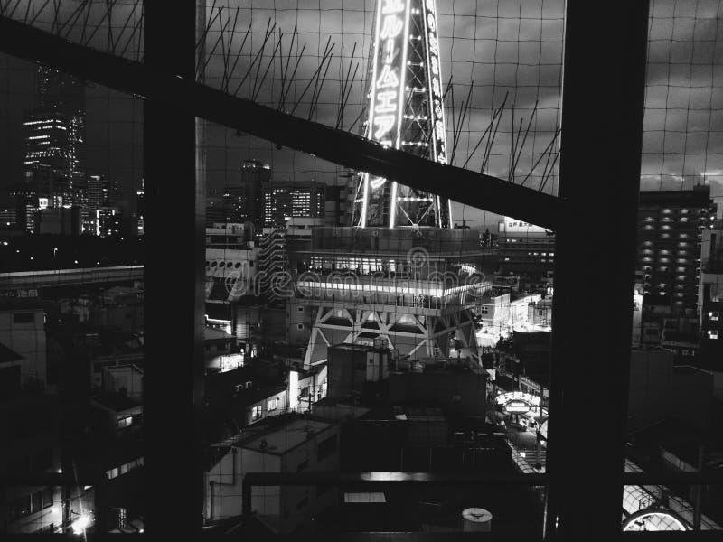 Toren bij nacht royalty-vrije stock fotografie