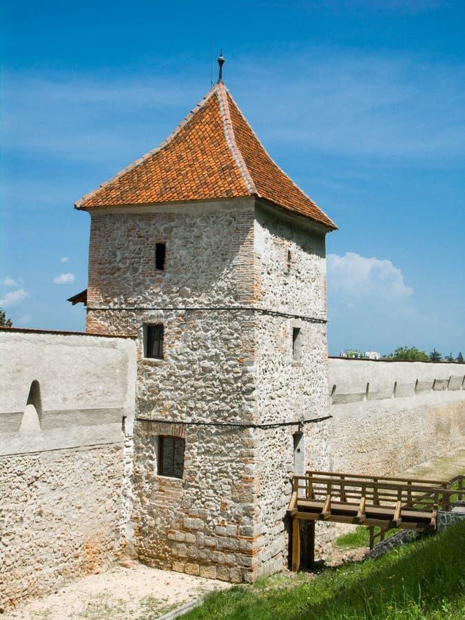 Toren in Brasov, Roemenië royalty-vrije stock fotografie