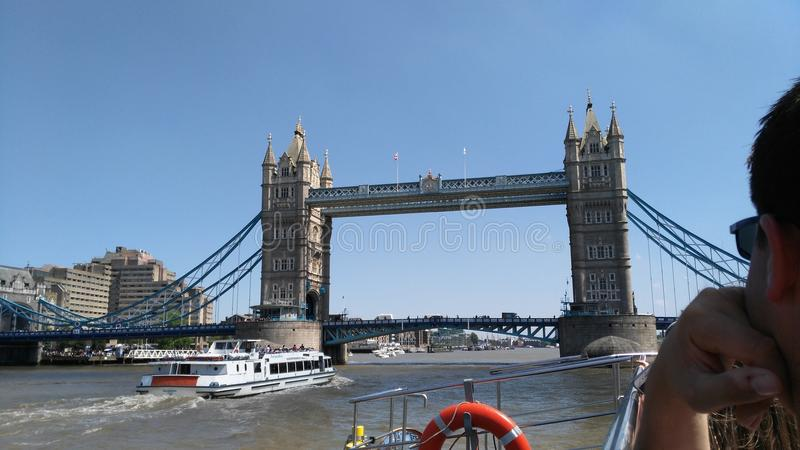 Toren Bridge1 royalty-vrije stock afbeelding