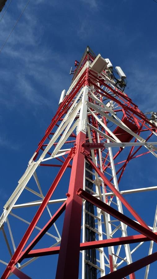 Toren communicatie toren stock fotografie