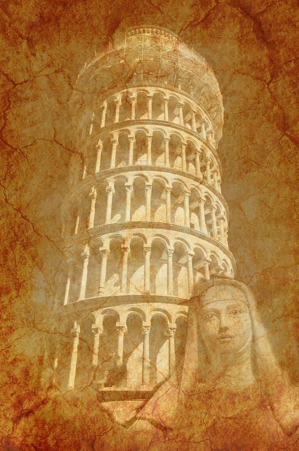Toren en Heilige stock foto's