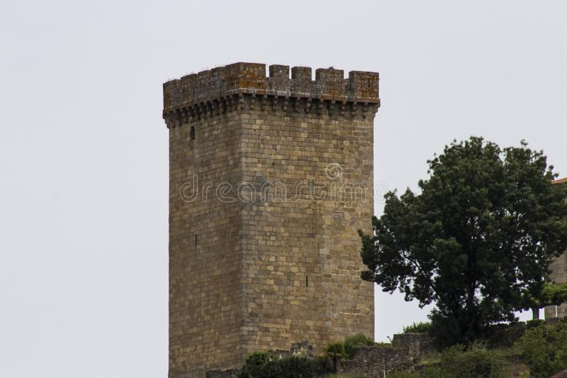 Toren feodale era stock fotografie