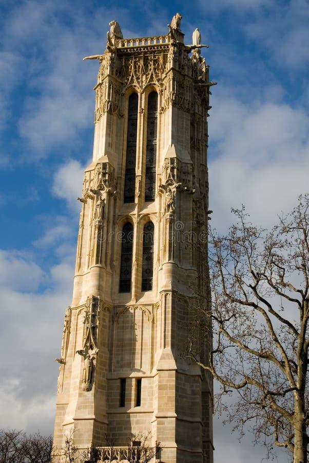 Toren heilige-Jacques stock fotografie