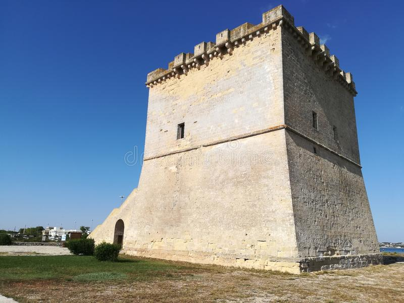 Toren Lapillo, Salento Italië royalty-vrije stock foto